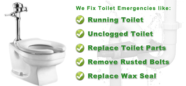 silence a noisy toilet remove a rusted bolt stop odor problems replace the wax seal or repair any other toilet problem neels ideal plumbing service